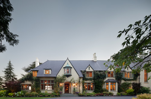Woodway architecture shines in this European style home's historic remodel.