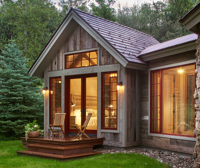 Woody Creek Guest House Rustic Exterior Denver