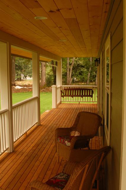 Wrap around Porch traditional-exterior
