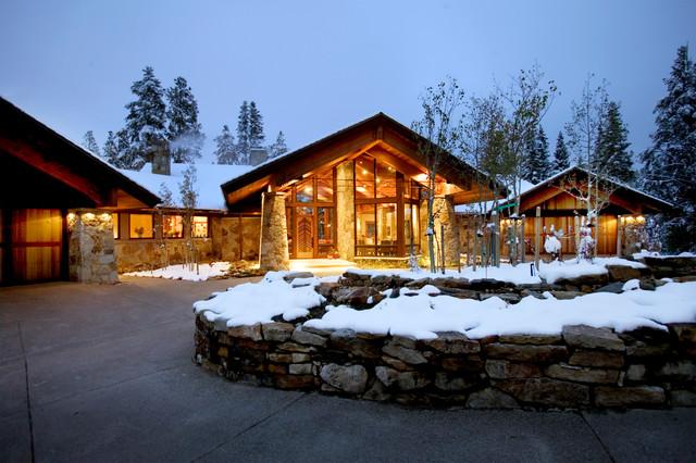 Wrenn Residence rustic-exterior