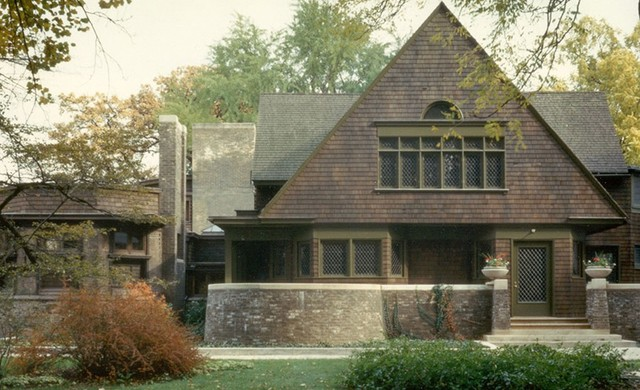 traditional exterior by Frank Lloyd Wright Preservation Trust