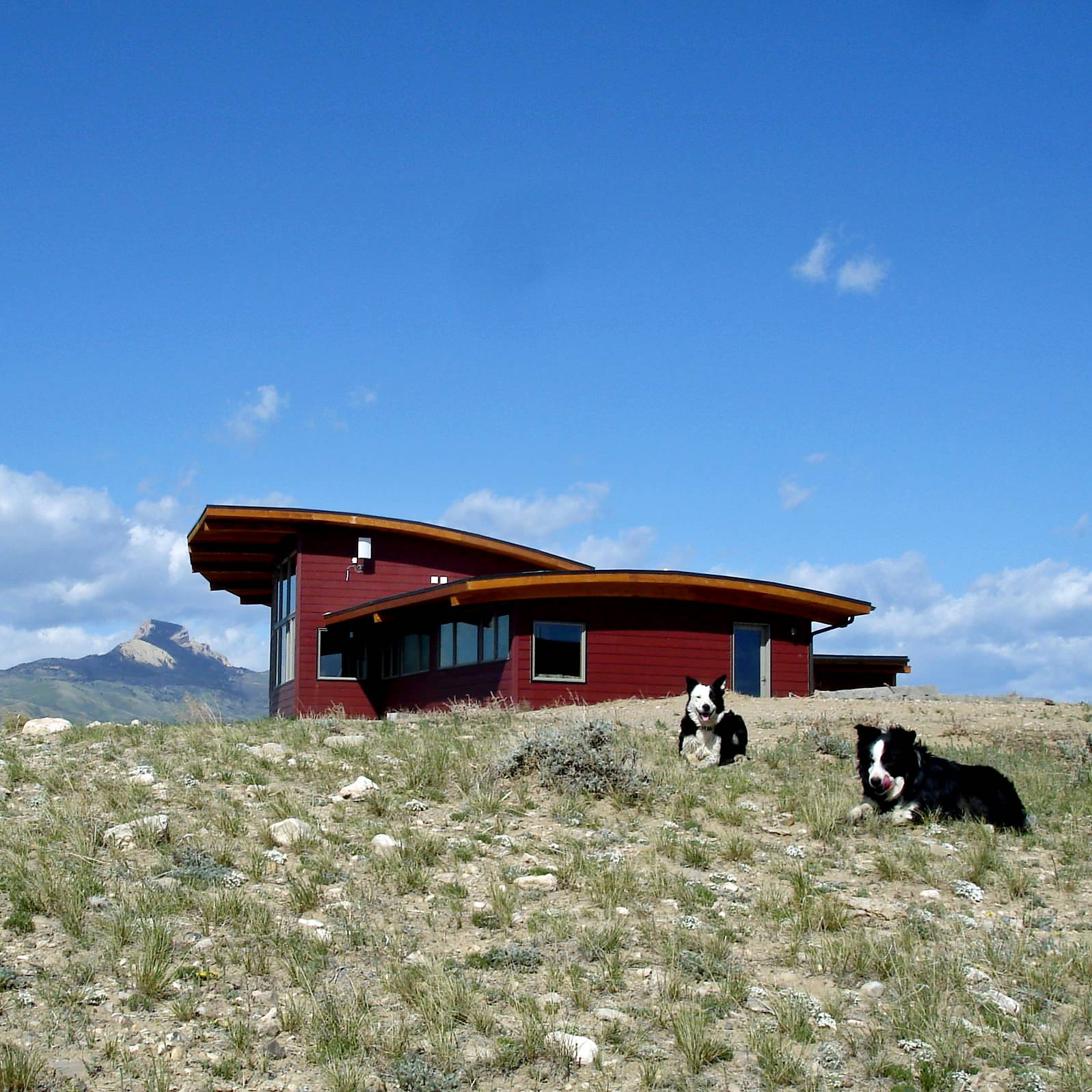Wyoming Ranch House