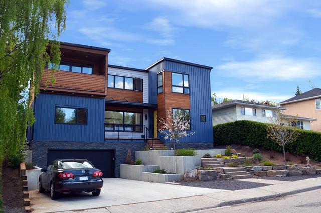 X line 014 exterior contemporary exterior calgary by hive modular llc - Hive modular x line container home in canada ...