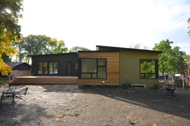 In Progress Modern Exterior Minneapolis By Hive Modular LLC