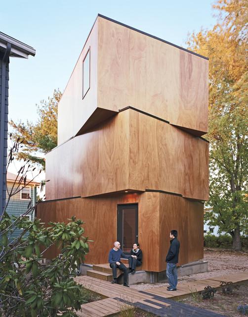 XS house - Contemporary - Exterior - Boston - by uni architecture