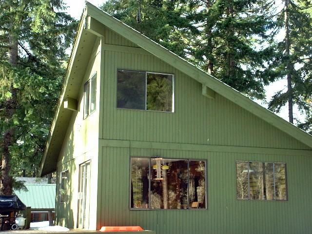 Yakima river cabin remodel rustic exterior seattle for Bathroom remodel yakima
