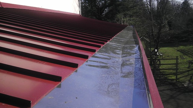 Yankee Gutters Contemporary Exterior Other Metro