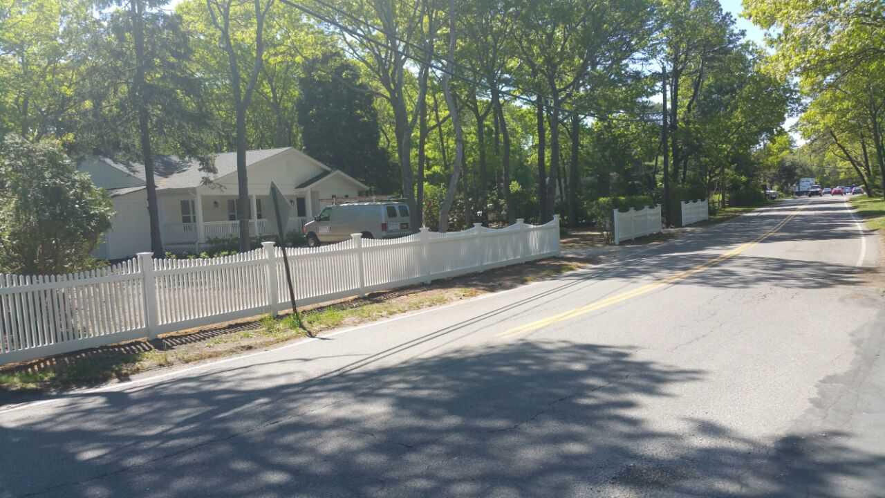 Yard Fence - Wainscot, NY