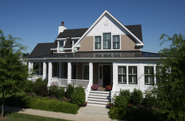 Yarmuth Residence traditional-exterior
