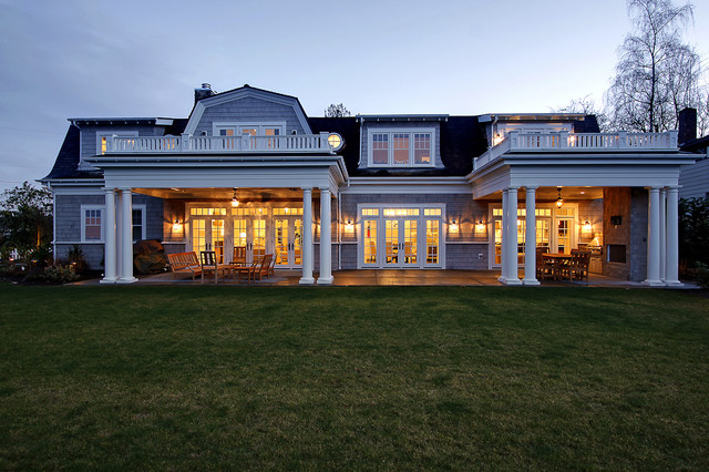 Yarrow Point Residence traditional-exterior