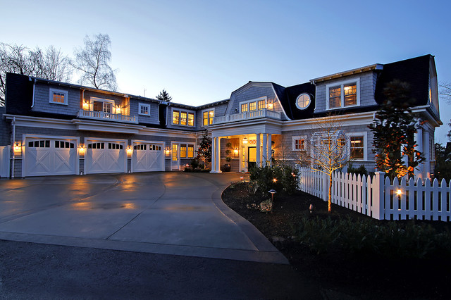 Yarrow Point Residence traditional exterior