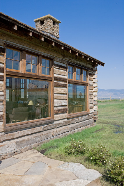 Yellowstone Homestead eclectic-exterior