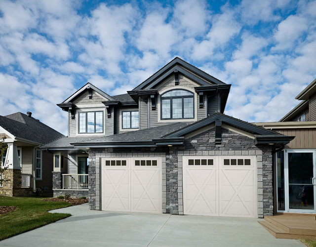 Yellowstone Park Royale II Show Home in Aurora traditional-exterior