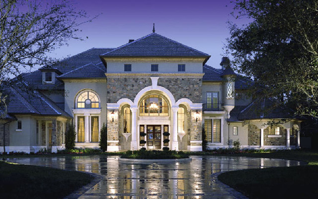 luxury homes exterior - Luxury House Exterior