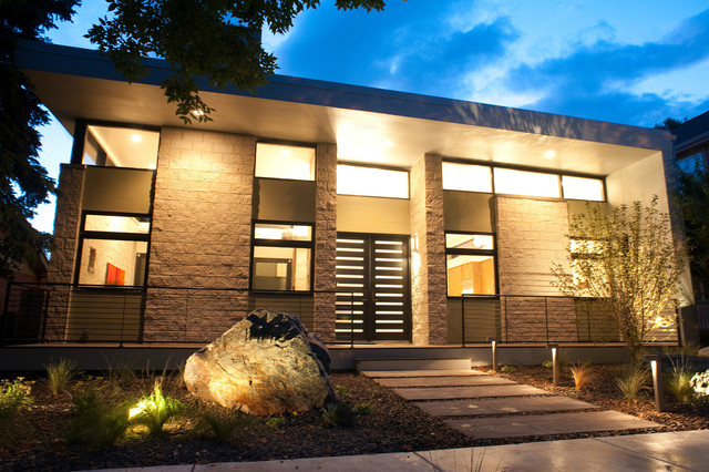 York Street Residence Modern Exterior Denver By West Standard Design Build