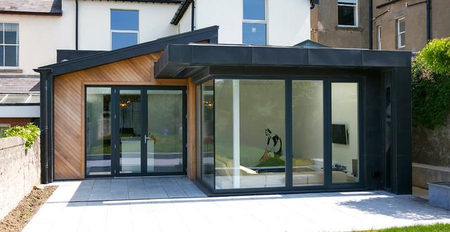 Zinc house for Modern zinc houses