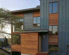 zipper house contemporary-exterior