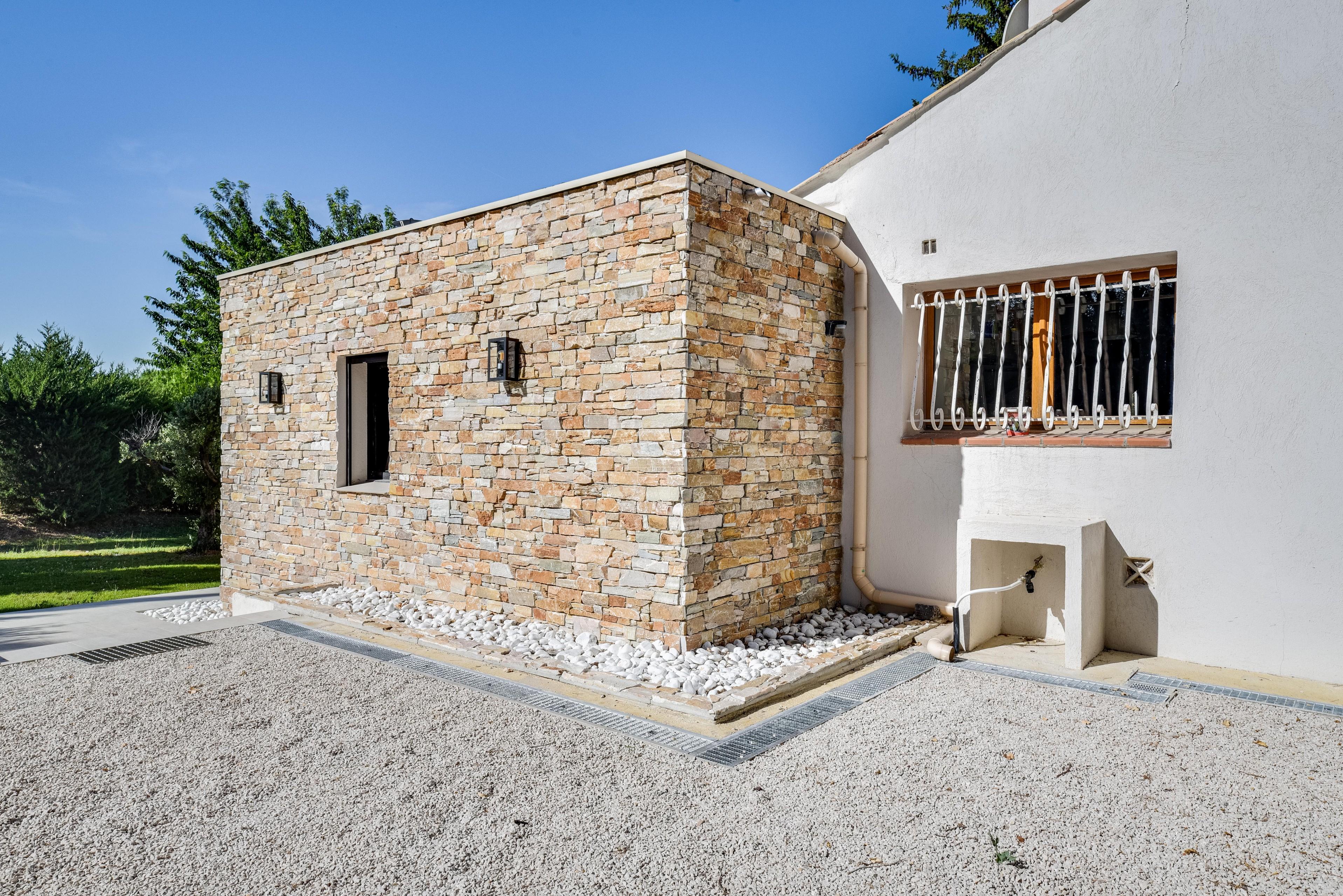 Agrandissement maison provençale