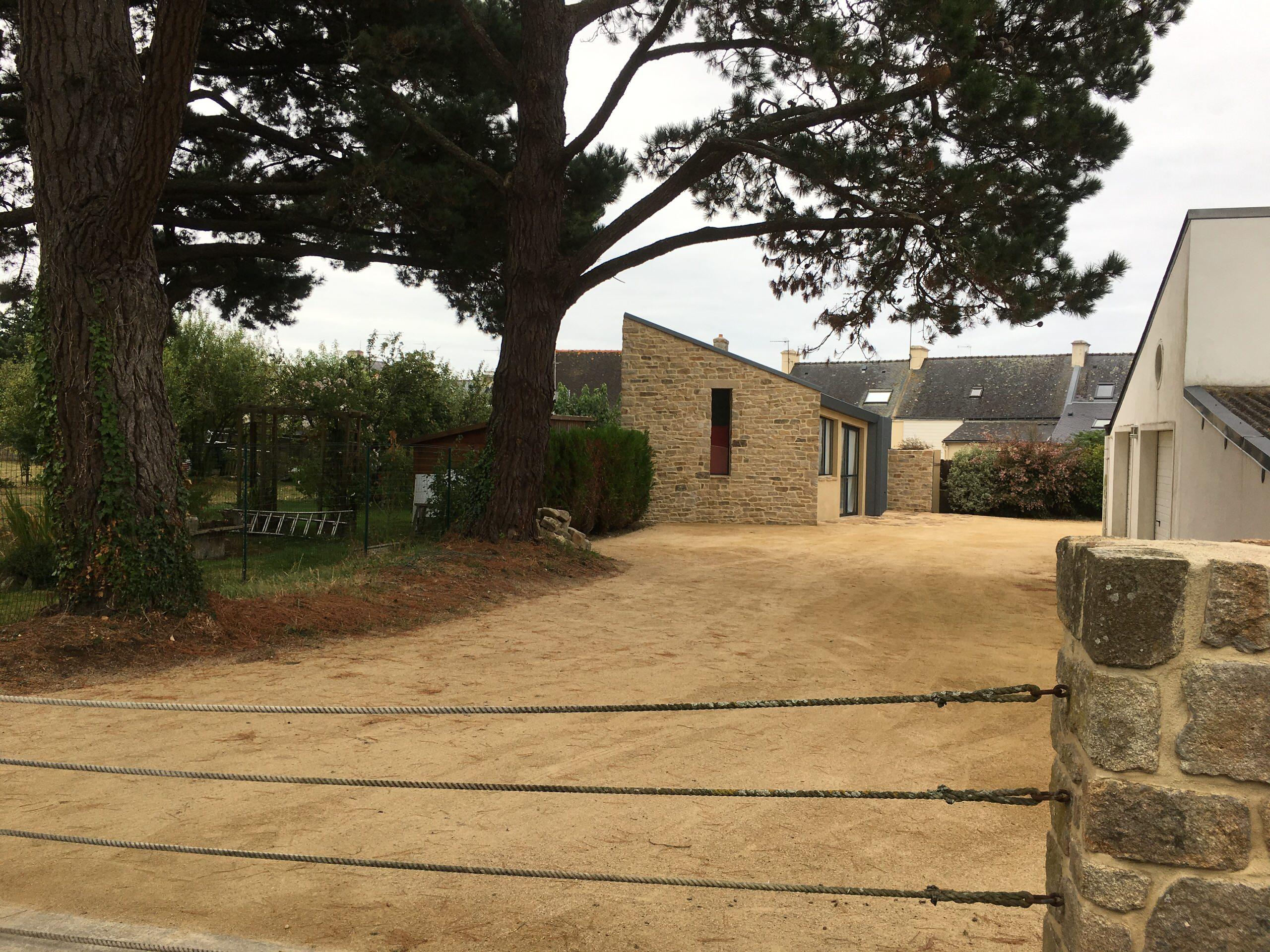 Atelier d'artiste en Bretagne
