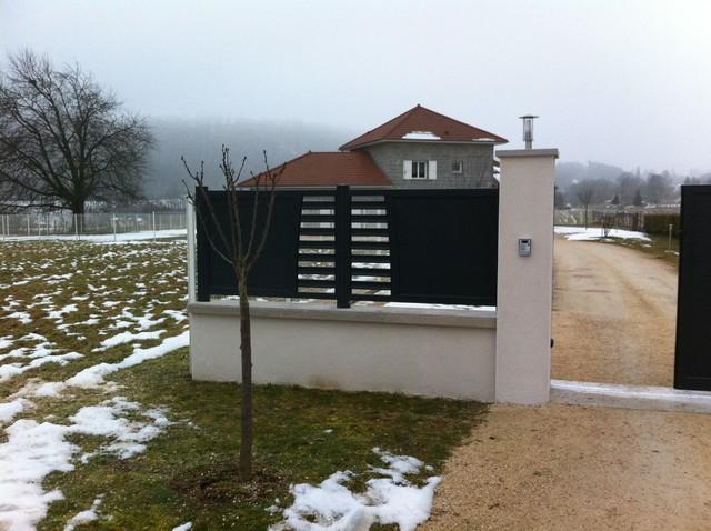 Cl ture aluminium - Central jardin saint bonnet pres riom ...