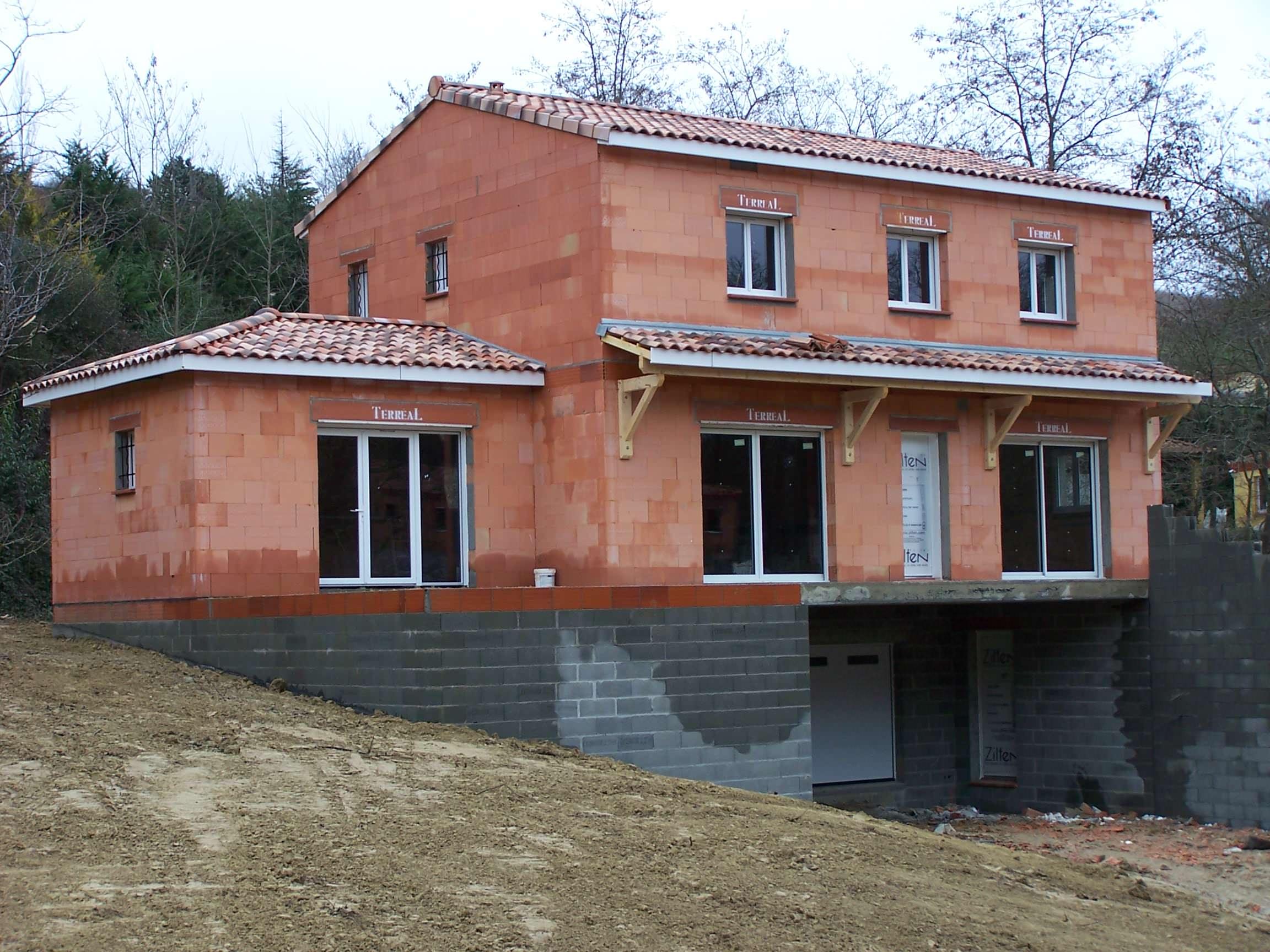 Construction d'une maison à Mervilla