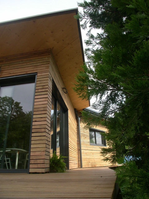 Emejing Maison Ossature Bois Dijon Contemporary - Transformatorio ...