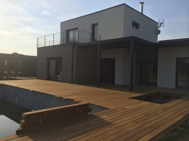 construction toit terrasse