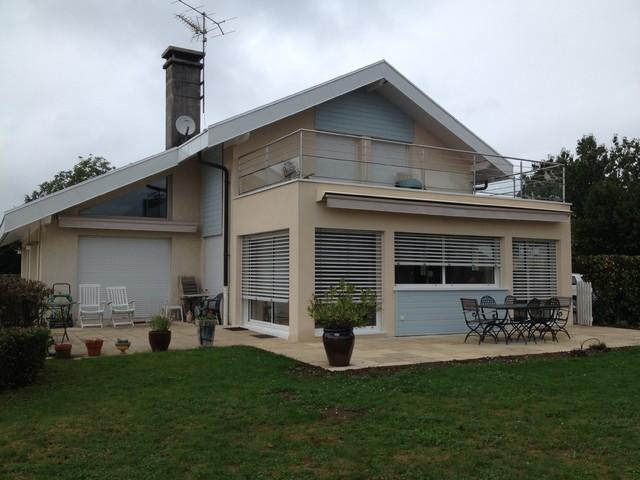 Cr ation d 39 une v randa contemporain fa ade lyon - Maison renovee savoyarde ciel atelier ...