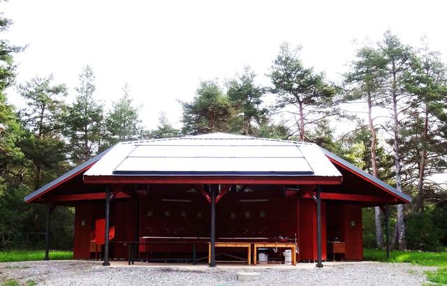 Eco-camping: Le Cun du Larzac - Contemporain - Façade ...