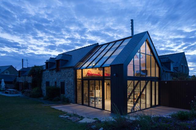 Extension CF contemporain-facade