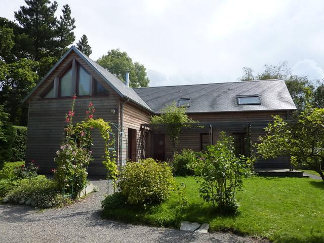 Extension Habitation extension d'une maison d'habitation à carolles - country - exterior
