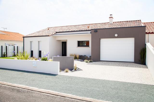 Fa ade de la maison moderne fa ade autres p rim tres for Facades exterieures de maison