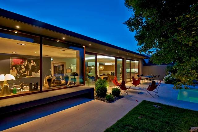 HA 03 Rénovation et extension d\'une maison - Moderne - Façade ...