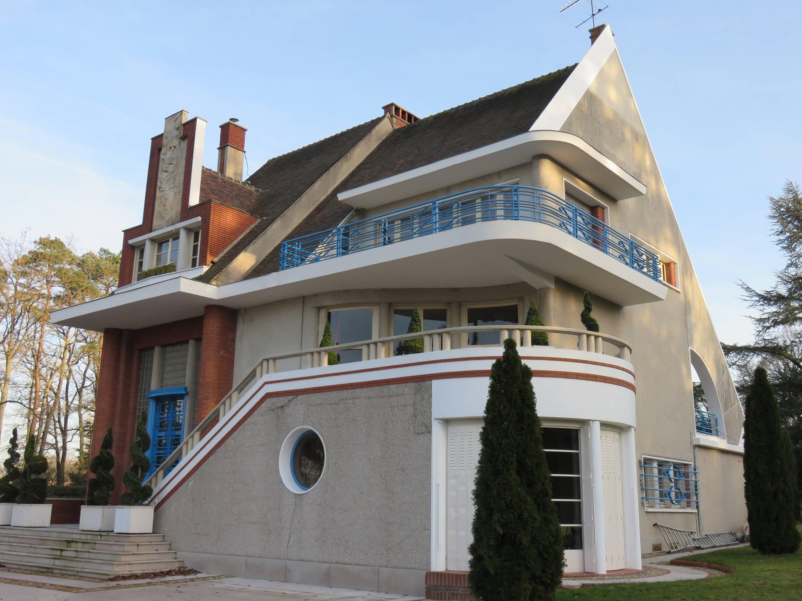 Maison Art Déco - architecte Pierre Petit