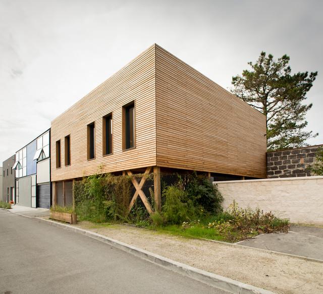 maison bbc bordeaux bastide contemporain fa ade bordeaux par poly rythmic architecture. Black Bedroom Furniture Sets. Home Design Ideas