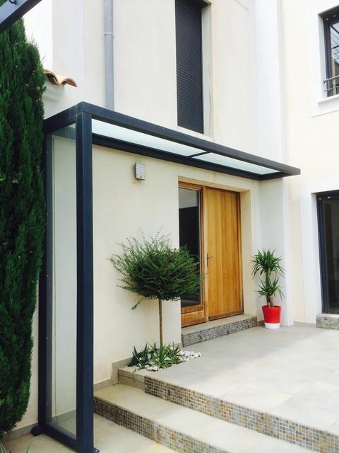 Maison de campagne - Moderne - Façade - Montpellier - par ...