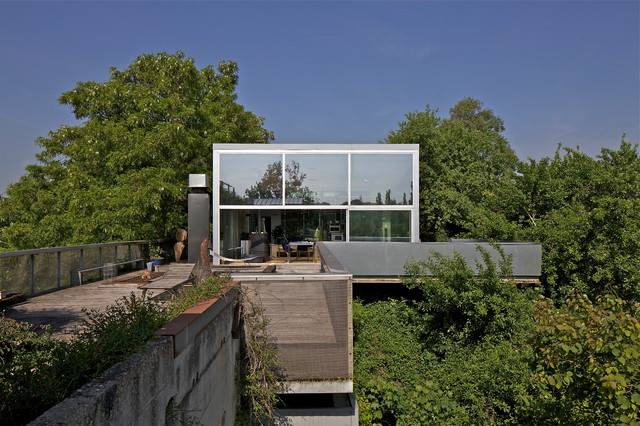 Maison Freneuse Contemporary Exterior Toulouse By
