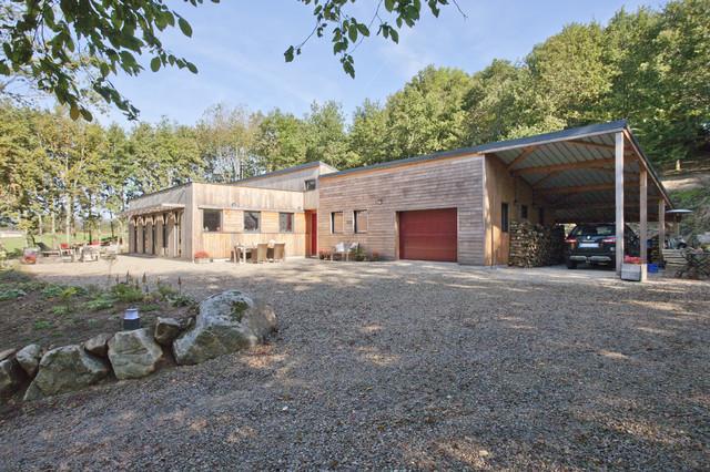 Architecture une maison ossature bois pour un couple for Concepteurs de maison