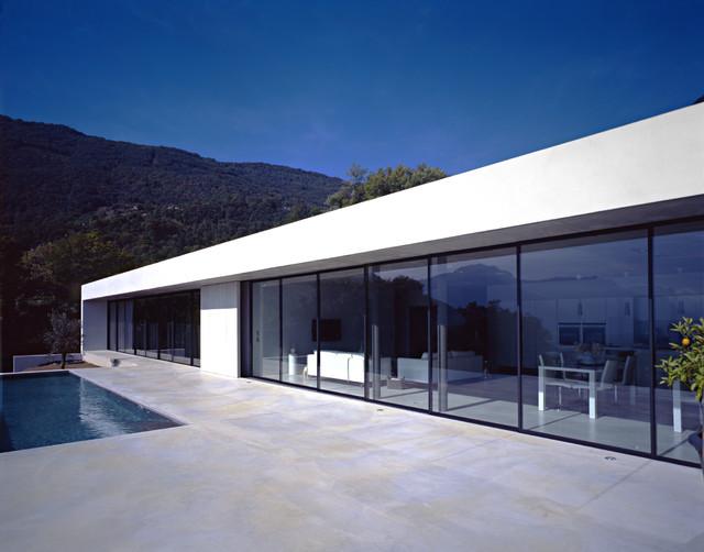 Maison J Moderne Facade Grenoble Par Atelier Guy Depollier