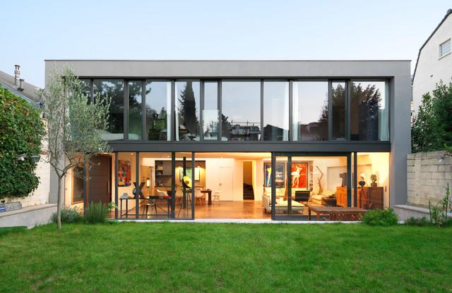Maison ms minimalistisch haus fassade sonstige for Haus minimalistisch