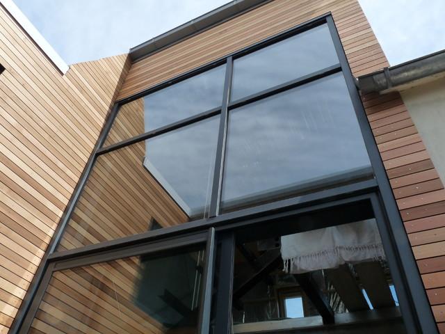Maison ossature m tallique remplissage ossature bois for Maison moderne ossature metallique