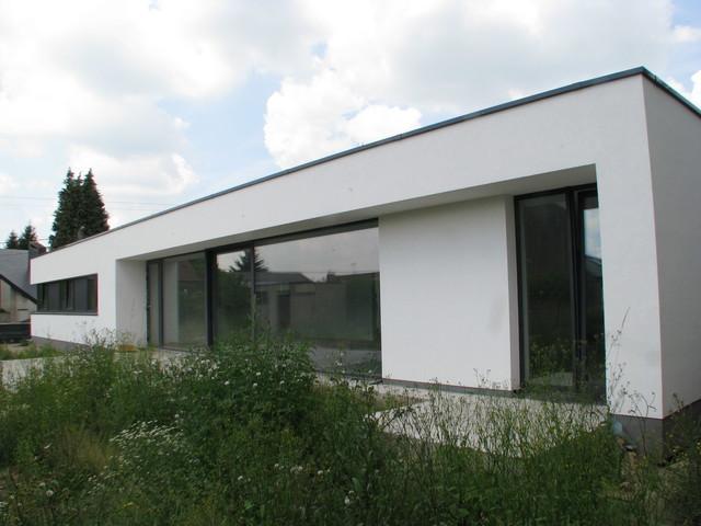 Maison passive contemporaine nivelles belgique for Construction maison belgique