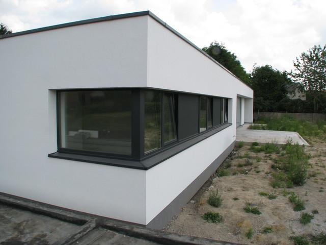 Extension contemporaine maison ancienne 20171022100544 for Architecture ancienne