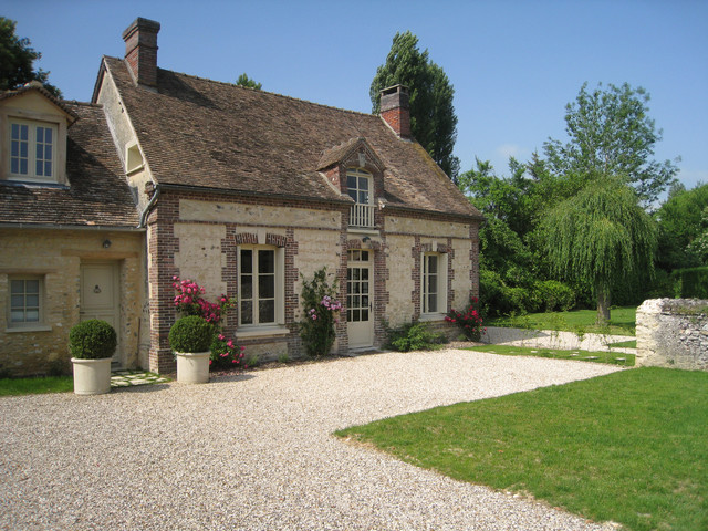 Normandy House Traditional Exterior