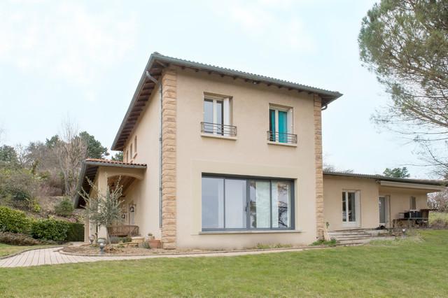 Projet saint cyr au mont d 39 or r novation maison for Renovation maison de campagne
