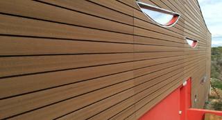 Renovation bardage bois design
