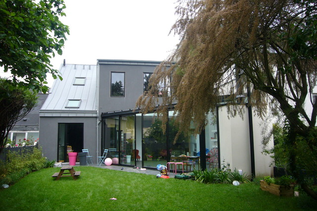 R novation contemporaine d 39 une maison de ville rennes for Aventures de maison rennes