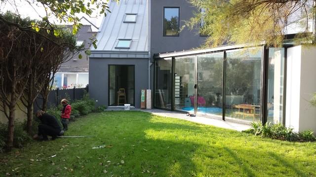 Rénovation contemporaine d\'une maison de ville à Rennes ...