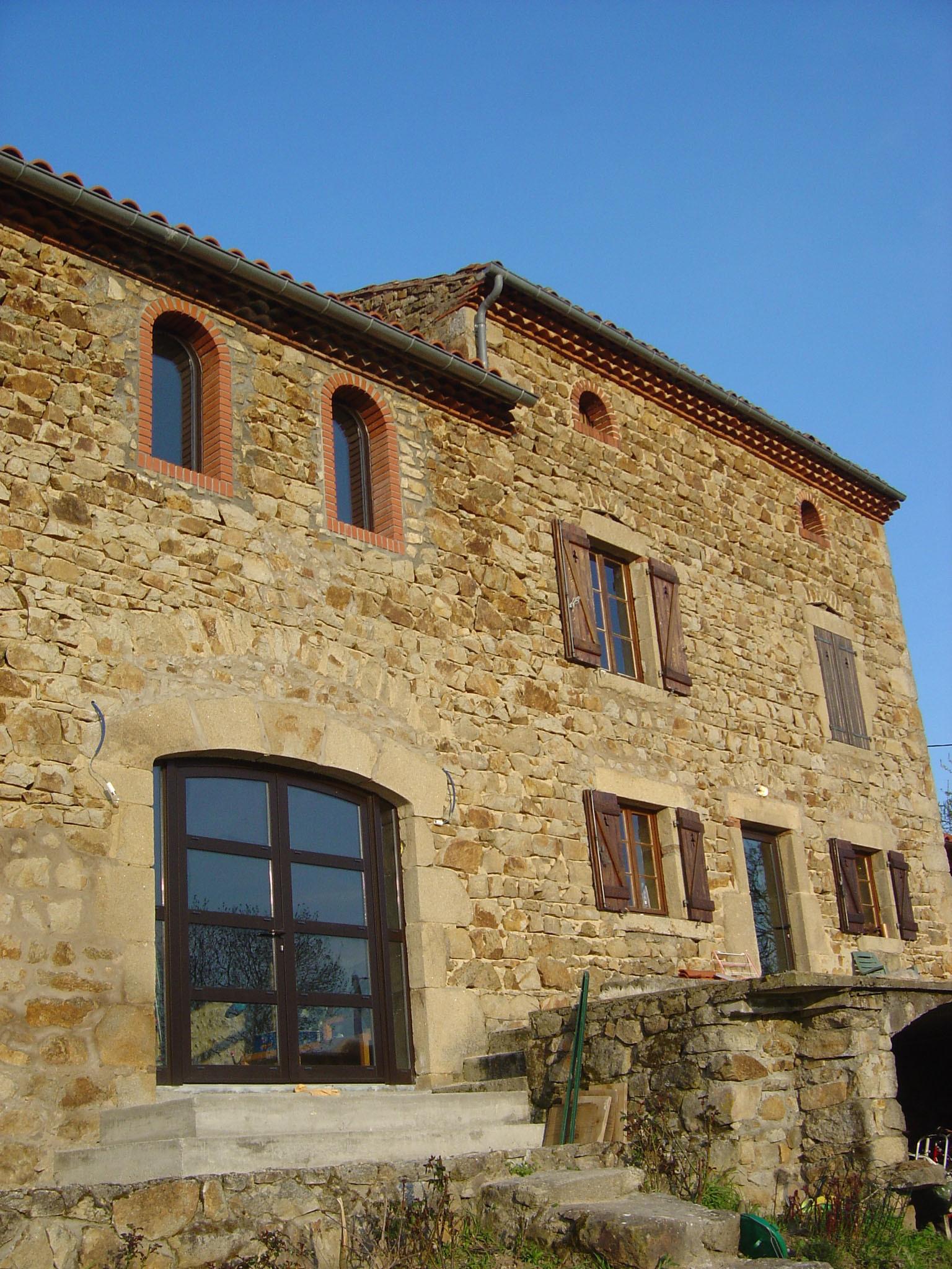 Rénovation d'une maison en Auvergne