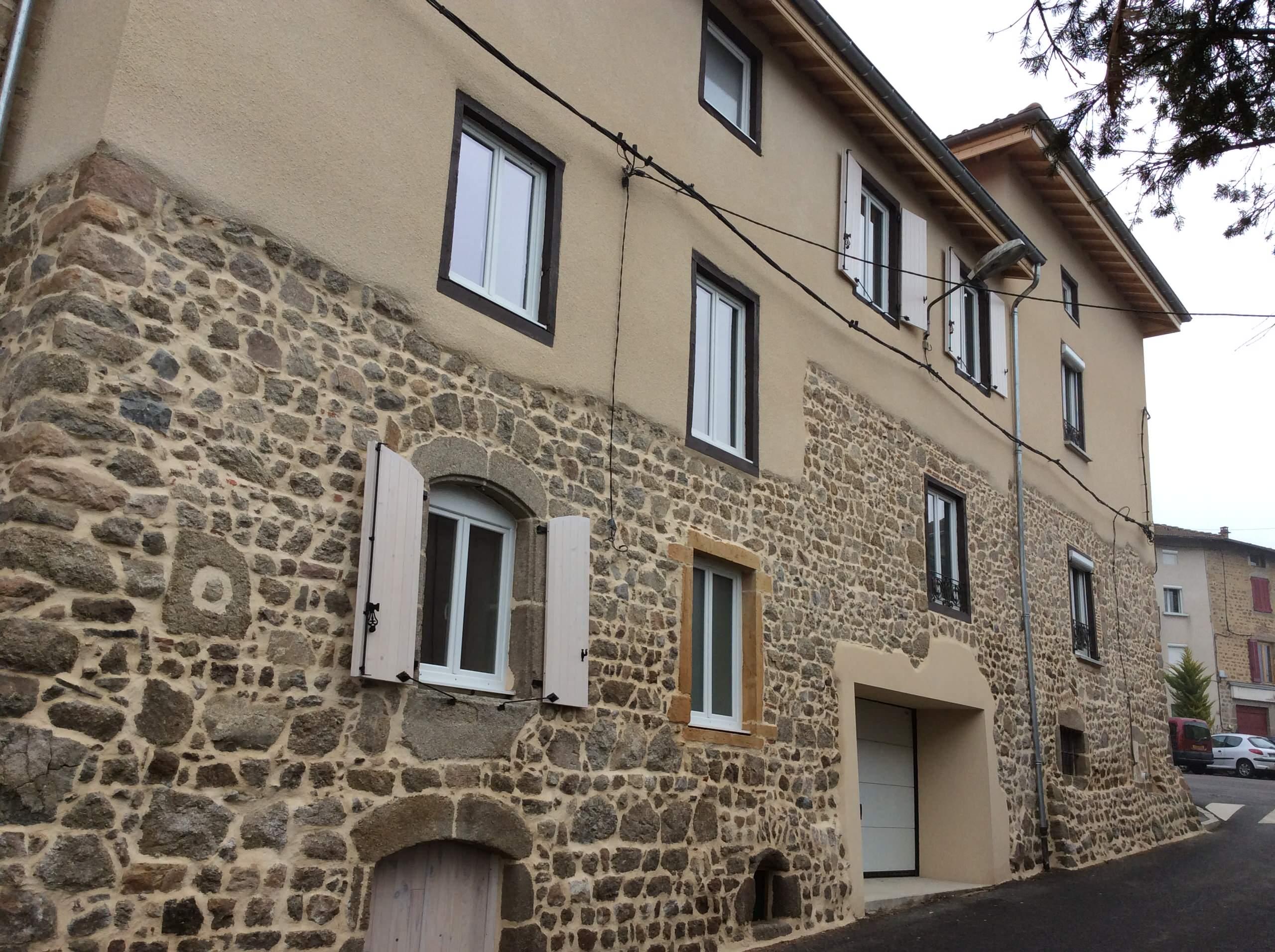 Rénovation façades en pierre